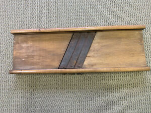 Vintage Slaw Cutter Board Excellent Condition