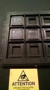 Tms320c32pcm50 Ti Ic Dsp 144qfp Lot Of 2 New Units On Tray