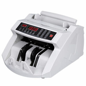 Money Bill Cash Counter Bank Currency Counting Machine Uv Mg Counterfeit