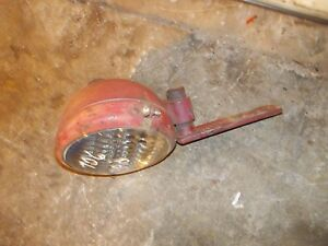 Farmall 706 806 Tractor Rear Fender Mount Light Bracket Ihc Light