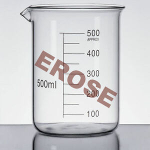Top Quality Beaker Borosilicate Glass 500 Ml Erose