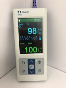 Nellcor Covidien Pm10n Spo2 Pulse Oximeter And Ds 100a Spo2 Sensor