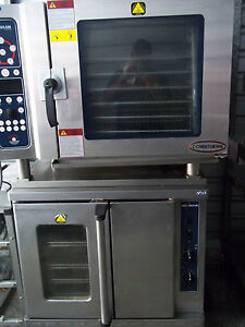 Alto Shaam Double Stack Combitherm And Convection Oven 7 14esi Asc 4e 2013 Yr