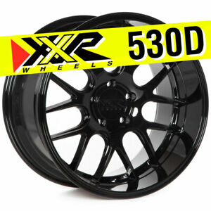Xxr 530d 18x10 5 5x114 3 20 Gloss Black Wheels Set Of 4