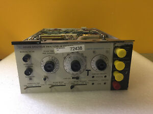 Hp Agilent 8552b High Resolution If Section Plug in Module For Parts Repair