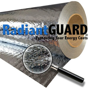 Radiant Barrier Classic Foil Insulation 1000 Sq Ft Roll Residential Attic Grade