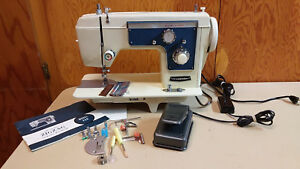 Dressmaker Sewing Machine Heavy Duty Leather Upholstery Denim Serviced