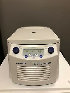 Eppendorf 5415r Centrifuge Refrigerated W F45 24 11 And Lid Rotor 5415 R