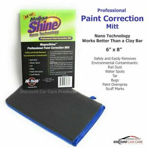 Magna Shine Paint Correction Mitt Clay Bar Replacement 8x6