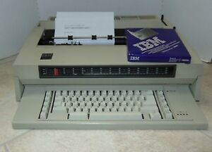 Ibm Wheelwriter 3 Typewriter Word Processor