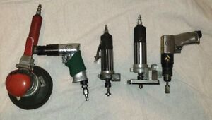 Pneumatic Routers two Sander Die Grinder I r Drill