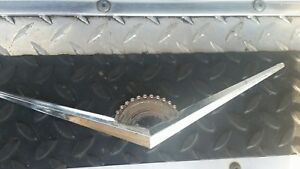 Used Vintage Rat Rod Cadillac Caddy Trunk Hood Emblem