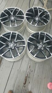 19 Oem Nissan 370z Nismo Rays Wheels Only Rims Forged 5x114 3