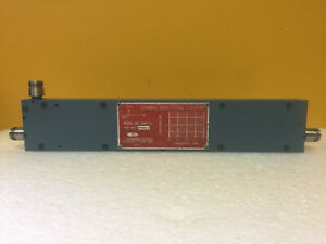 Nara 3040 30 240 To 500 Mhz Type N f Coaxial Directional Coupler Tested