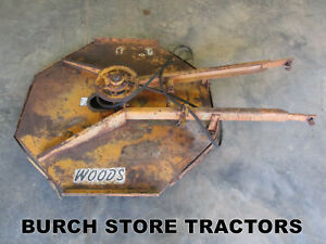Woods 42 Belly Mower Deck For Farmall Cub Tractors