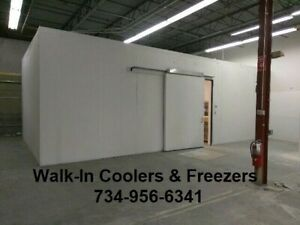 Walk In walkin Freezer 16 w X 68 d X 10 h Bakery Bar Restaurant Club