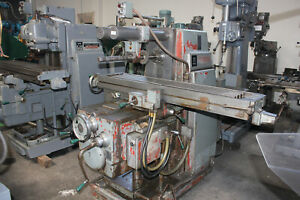 12 x56 Table Kearney Trecker 205s12 K t Horizontal Metal Milling Machine
