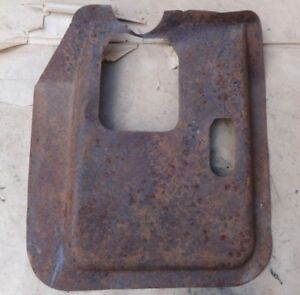 1935 1939 Ford Truck Floor Pan 4 Speed Trans Cover Original Pickup Panel