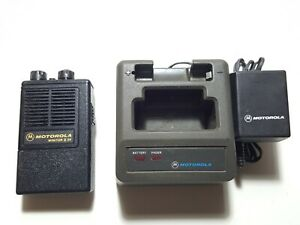 Motorola Minitor Ii Sv stored Voice Vhf 153 770mhz Fire Ems Pager W charger