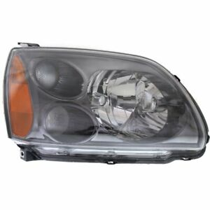 Halogen Headlight For 2004 2009 Mitsubishi Galant Right W Bulb