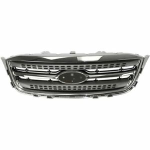 Grille New For Ford Taurus 2010 2012 Fo1200525 Ag1z8200ac