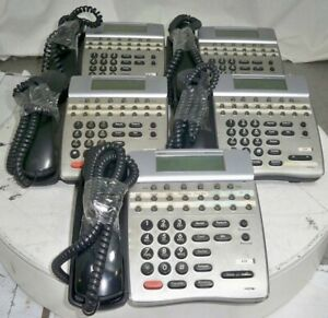 Lot Of 5 nec Dtr 16d 1 Bk Tel Dterm Series I Business Office Phone See Notes