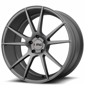20 Kmc Km709 Flux Charcoal Wheels And Tires