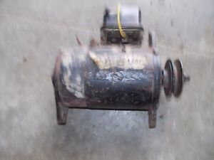 Farmall Ih Cub Or Lo Low Boy Tractor Original 6v Generator Belt Drive Pulley