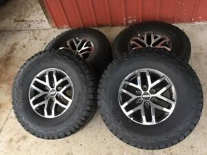Brand New Ford Raptor Wheels And Tires