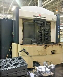 Makino A77 Horizontal Machining Center Thru Spindle Coolant 2x Tombstones Inc