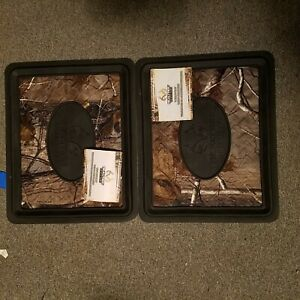 New Pair Realtree Camo Rear Floor Mats For Auto Antlers Hunting Outdoors Covers