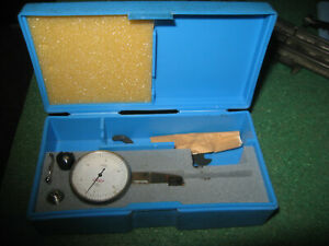 Links Dial Test Indicator 0005 Machining Machinist With Mounting Accessories