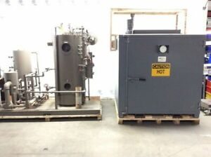 Sahara Industrial Batch Oven S4fcs Fulton Fuel fired Steam Boiler Model Ics8