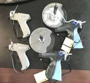 Four Clothes Garment Tagging Tag Guns 3 Boxes Of 1 Barbs