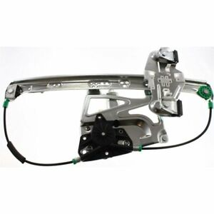 Power Window Regulator For 2000 2001 Cadillac Deville Front Right W Motor
