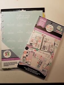 New Release The Happy Planner Classic Undated Wellness 6 Month Self Care Lot