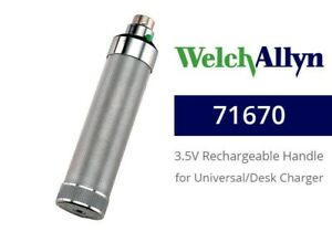 Welch Allyn 71670 Rechargeable Nicad Handle For Desk Well Chargers Brand New