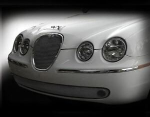 Jaguar S type Lower Bumper Mesh Grille bright Stainless Or Black 2005 2007