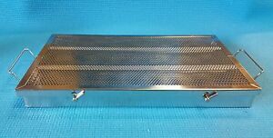 Instrument Sterilization Tray Container Stainless Steel