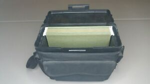 Plastics Letter File Box With Carry Case