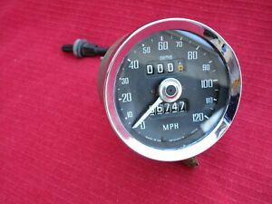 Oem Smiths Speedometer Gauge Sn 5230 13 For 1972 1976 Mgb And Mgb gt Tested