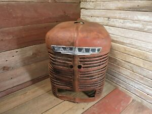 Vintage Ihc Farmall Farm Tractor Grille Screen Assy Rat Rod Piece Man Cave