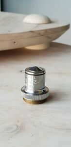 Soviet Vintage Objective Lens Apohr F 2 79 A 1 30 For Microscope Lomo Zeiss