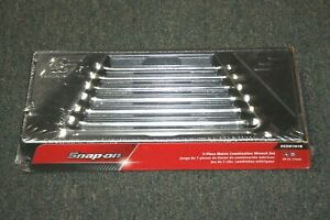 Snap On Oexm707b 10 To 17mm 12 Point Combination Wrench Set Nib Look