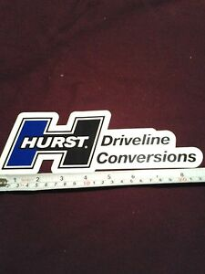 Hurst Driveline Decals Sticker Drag 4wd Offroad Dirt Nascar Racing Man Cave Hot
