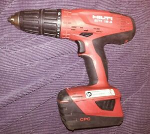 Hilti Sfh 18 a 18v Hammer Drill Tool B22 5 2 Battery No Charger Used Free Ship