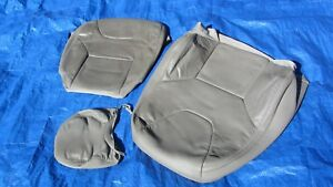 05 07 Volvo Xc70 Cross Country Oem Grey Oak Driver Left Side Leather Seat Cover