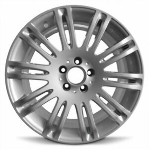 Set Of 4 Wheels 2007 2009 Mercedes E class New Aluminum Rim 18 Inch 5 Lug Silver