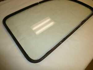 1955 1961 Willys Station Wagon Factory Lh Side Glass W seal
