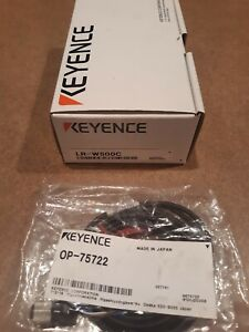 Keyence Lr w500c Full spectrum Photo Sensor With Cable All In Original Packaging